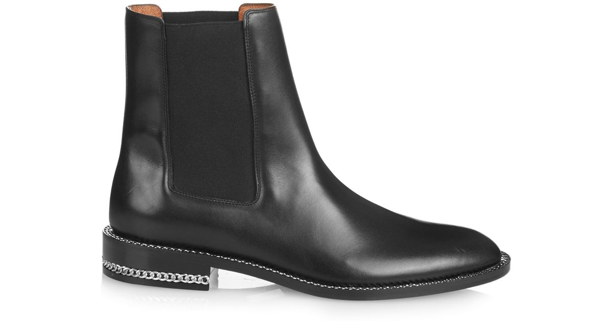 Professional Cheap Online Black Chain Chelsea Boots Givenchy Free Shipping Buy Sale Online Shop Cheap Sale New Arrival Buy Cheap Good Selling 5KFCq8P