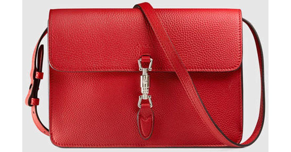 f11151b61c7 Lyst - Gucci Jackie Soft Convertible Mini Bag in Pink