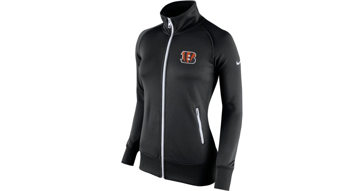Wholesale Nike Women's Cincinnati Bengals Stadium Track Jacket in Black Lyst  free shipping