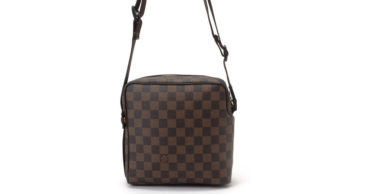 Lyst - Louis Vuitton Olay Pm Crossbody in Brown fedd0cc8bff8