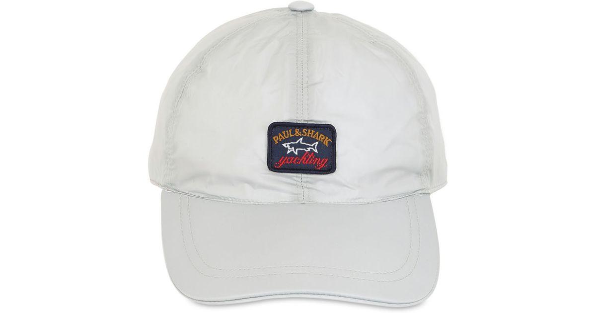 62e8cc19310 Lyst - Paul   Shark Nylon Baseball Cap in White for Men