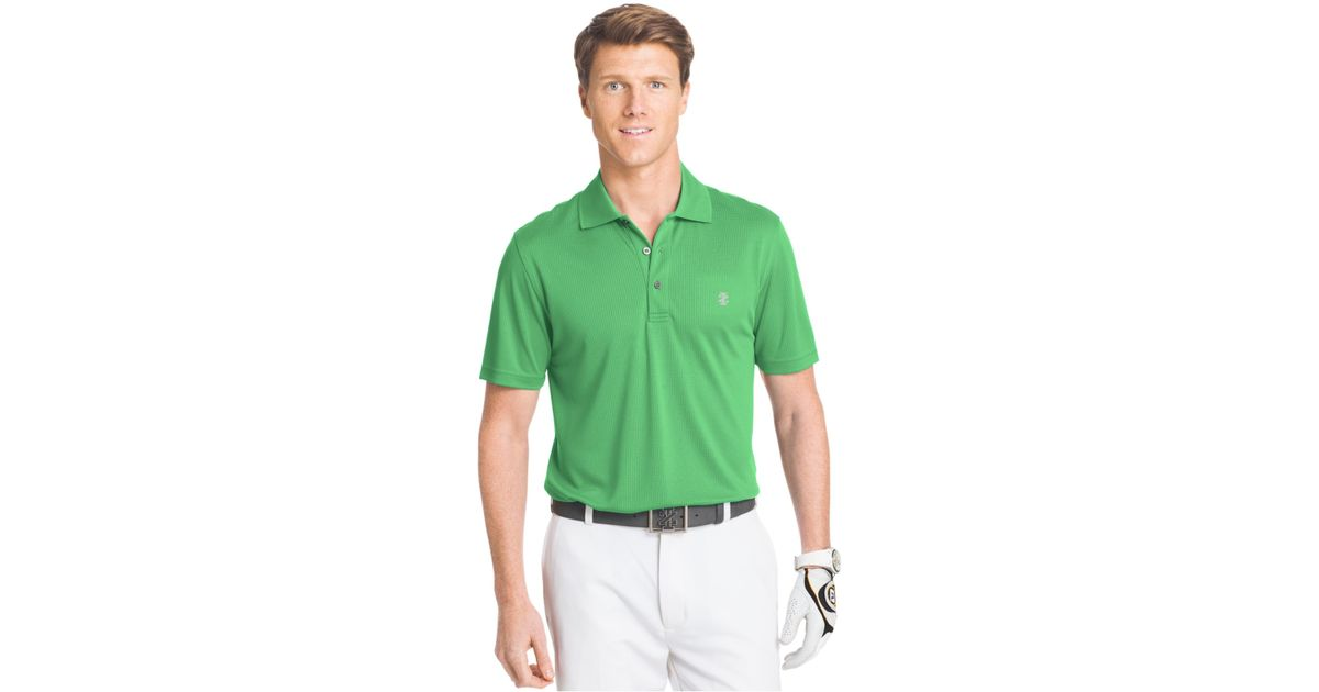 Izod Men 39 S Performance Golf Polo In Green For Men Irish
