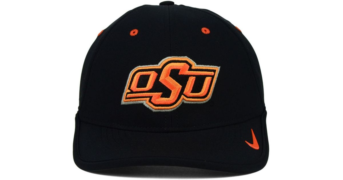 the best attitude e8f51 0cb33 Lyst - Nike Oklahoma State Cowboys Dri-fit Coaches Cap in Black for Men