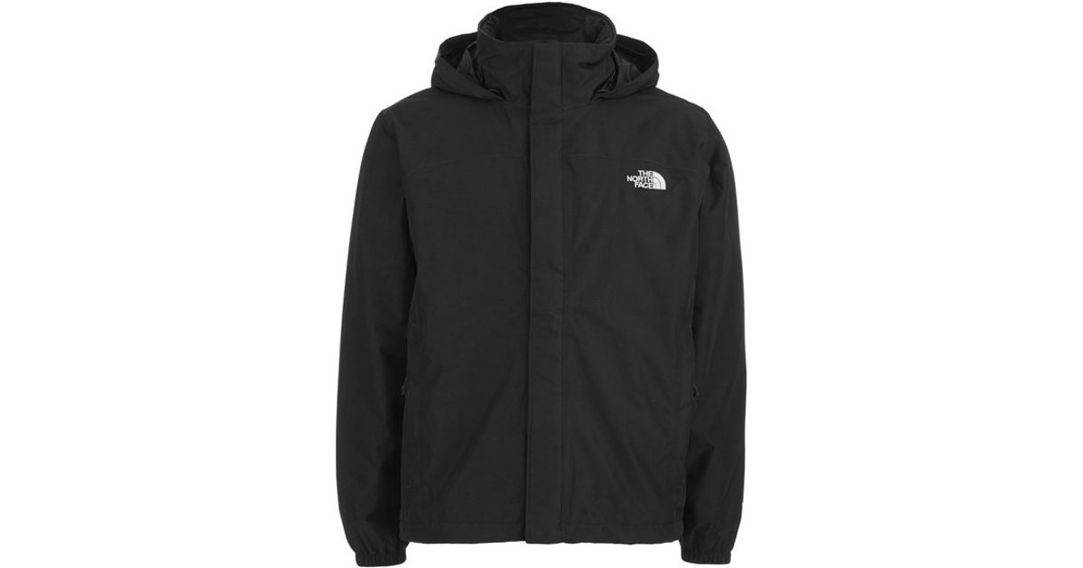 The North Face Men S Resolve Hyvent Hooded Jacket In Black
