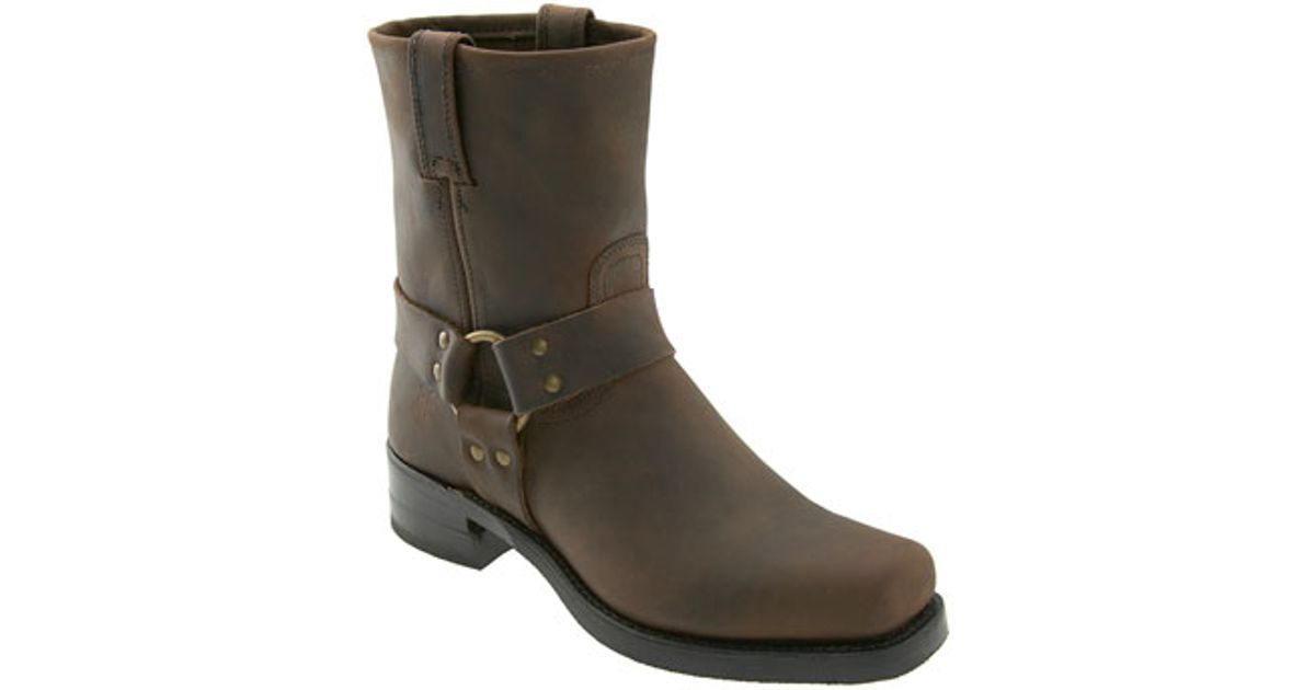 Frye Harness 8r Boot In Brown For Men Lyst