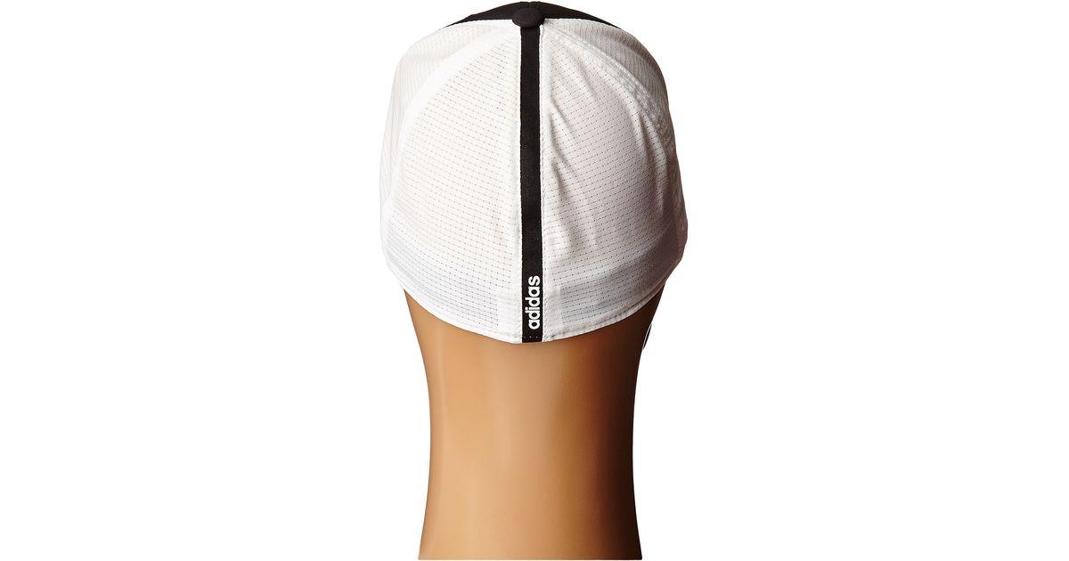 Lyst - adidas Originals Lightweight Climacool® Flexfit Hat in Black for Men 17784958230