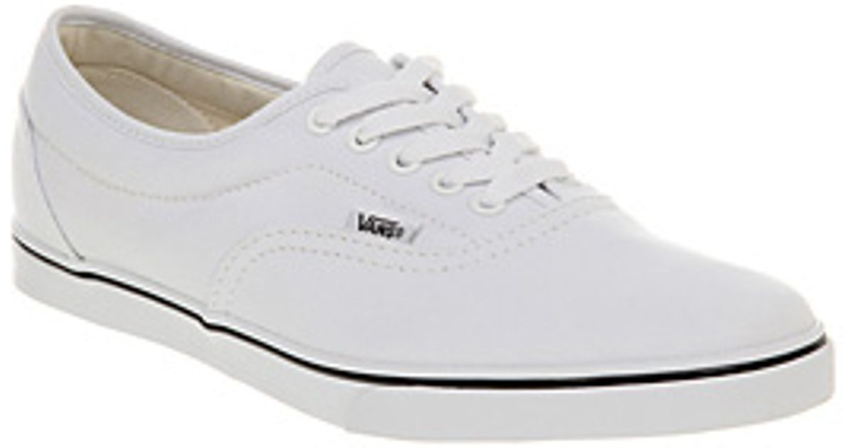 a991d1cbb3c Lyst - Vans Lpe in White for Men