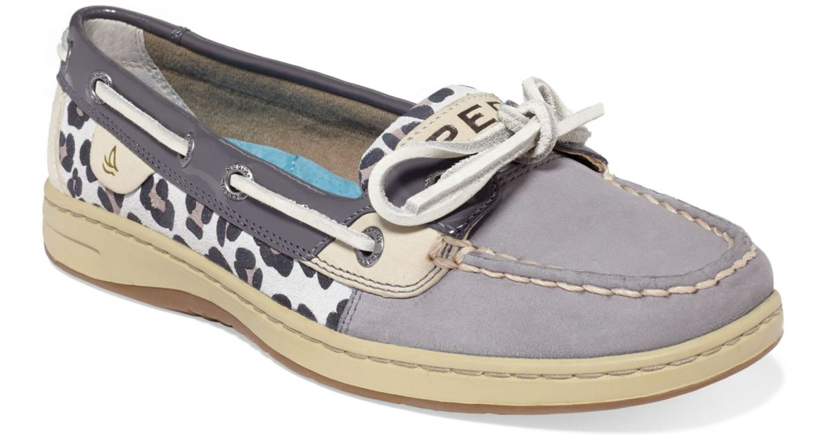 Sperry Top Sider Angelfish Leopard Boat Shoe