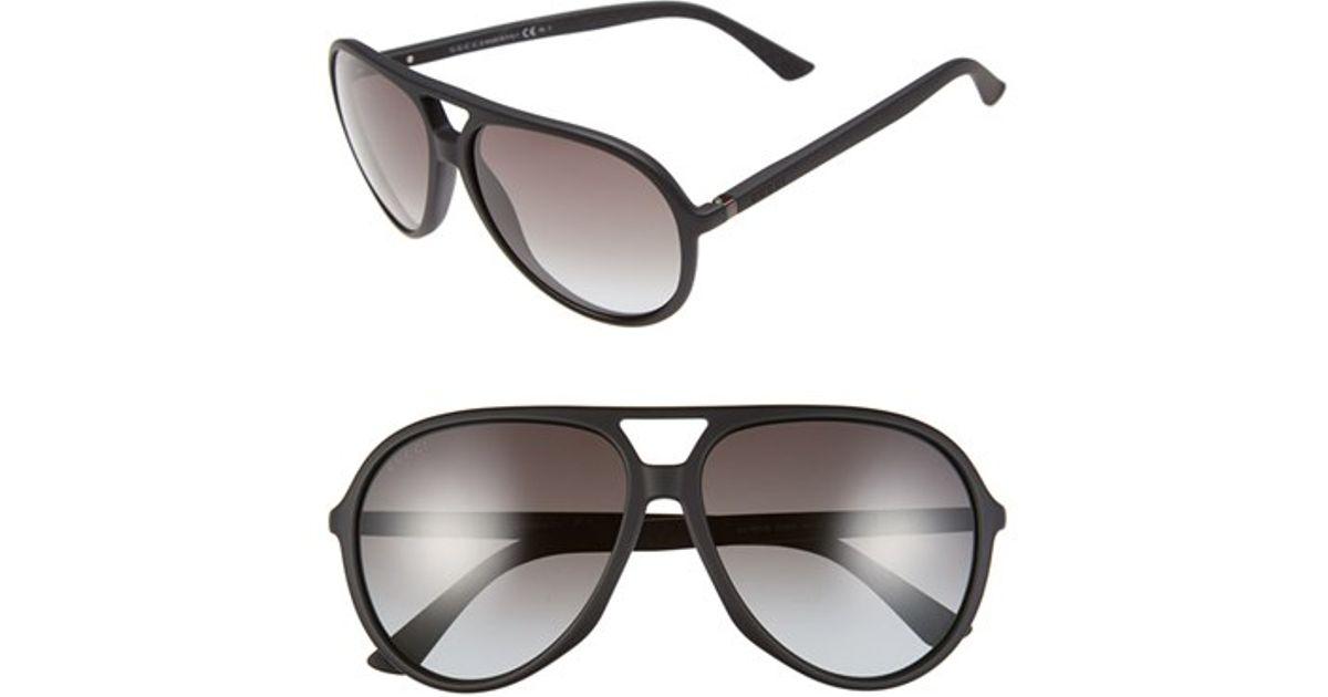 gucci 61mm aviator sunglasses. gucci 61mm aviator sunglasses k