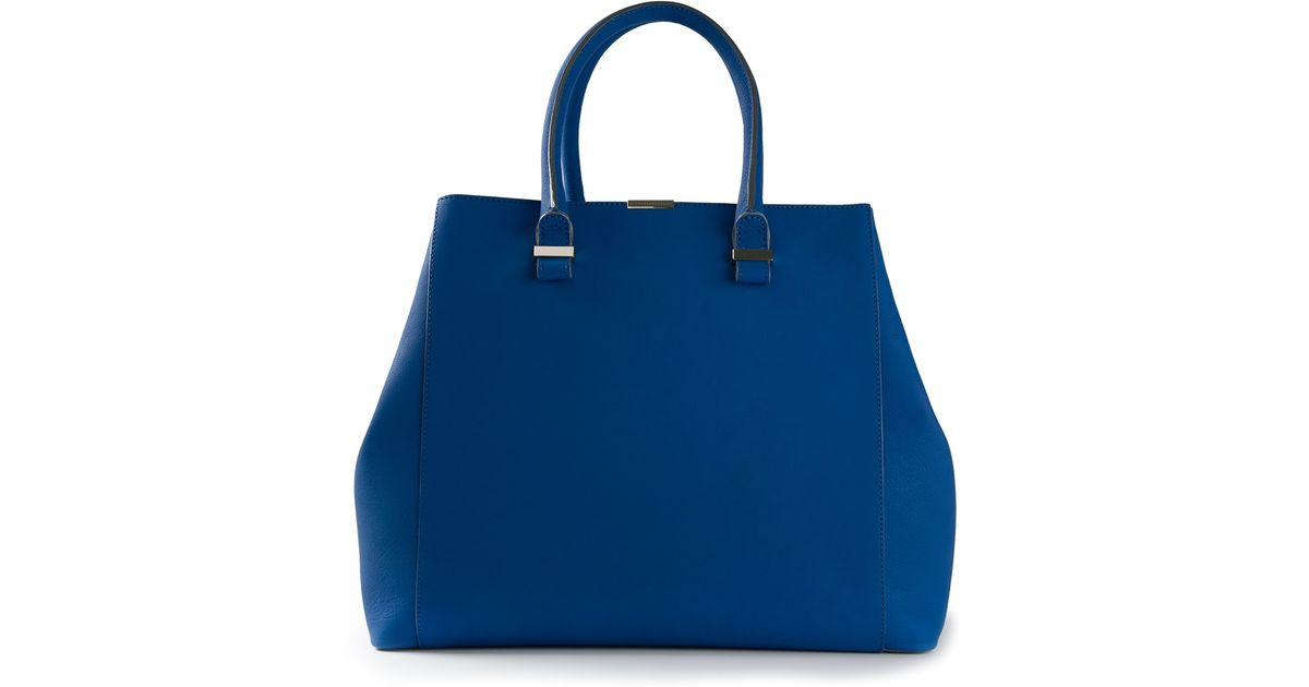 Victoria Beckham Liberty Tote in Blue SbWRpb