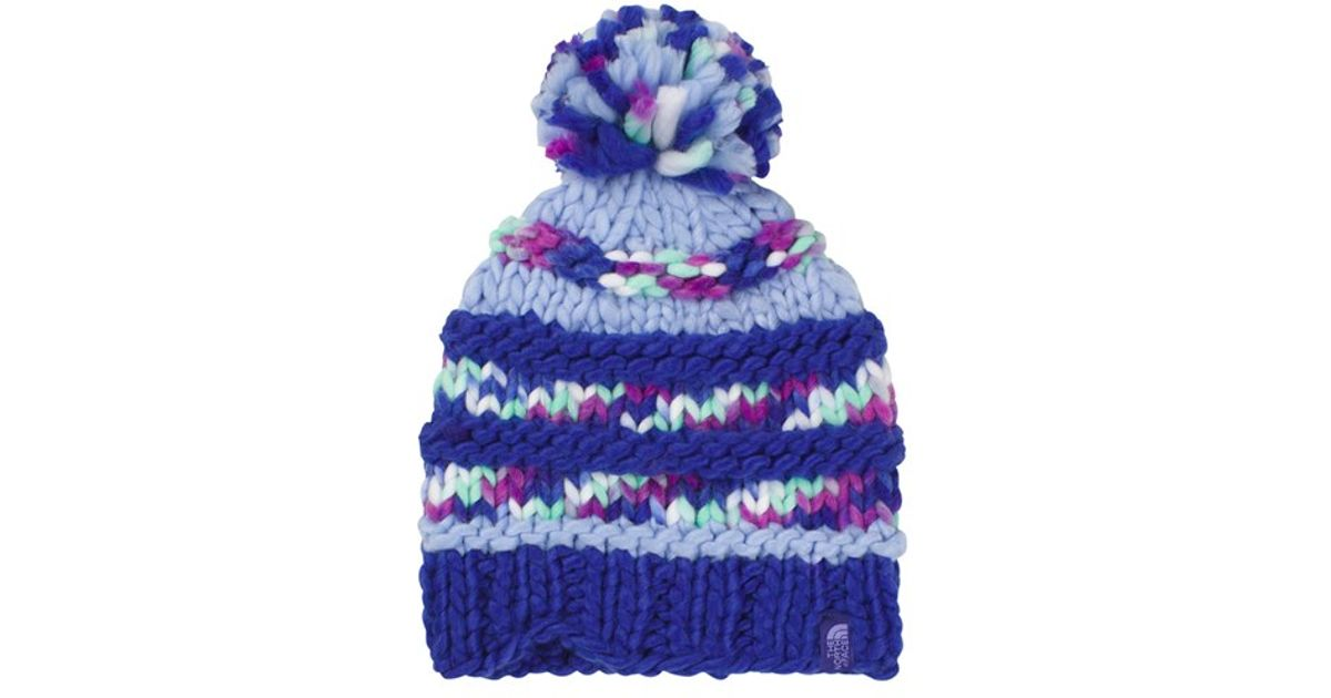 0a3f470a131 Lyst - The North Face  nanny  Knit Beanie - Purple