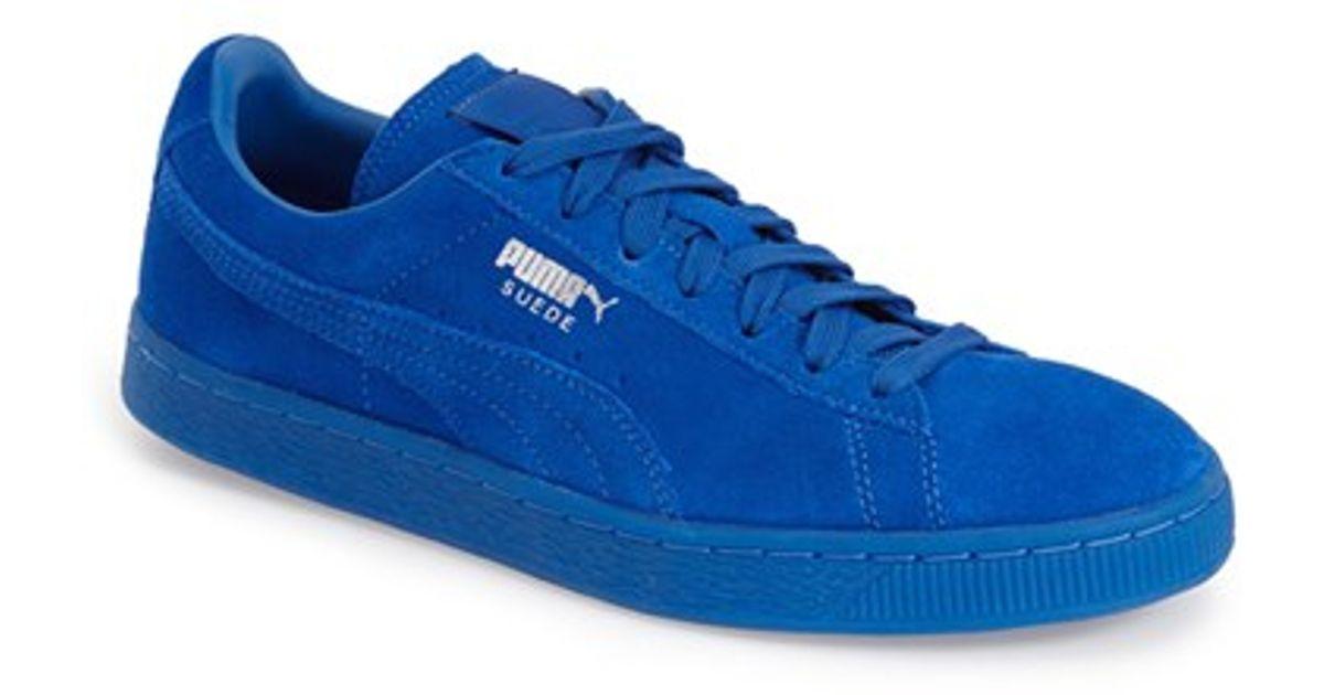 3addc21c305 Lyst - PUMA  suede Classic - Iced  Sneaker in Blue for Men