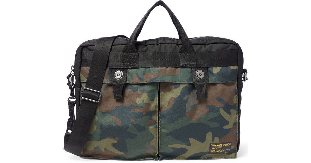Lyst - Polo Ralph Lauren Camo-print Military Commuter Case in Green for Men 3f213ff1af