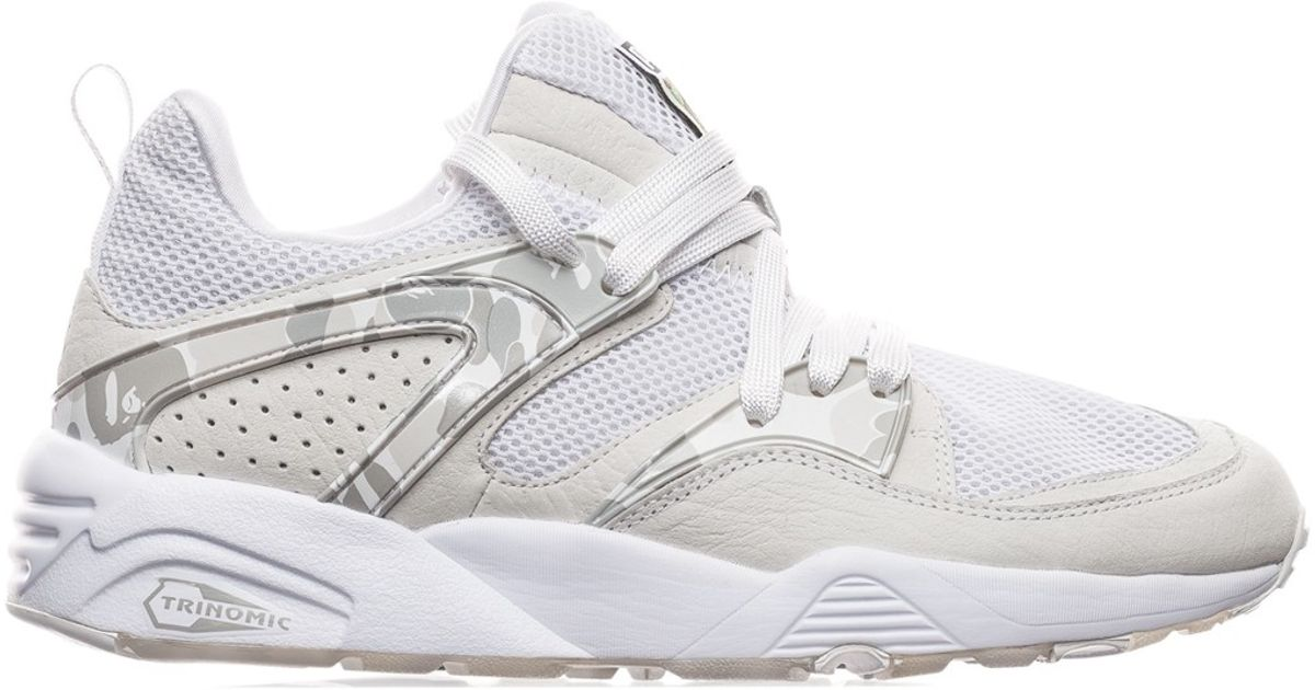 5dcb95291b68 Lyst - PUMA Bape Blaze Of Glory Sneakers in Gray for Men
