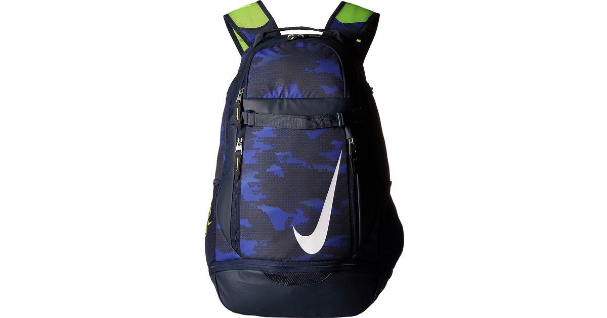 sports shoes 9868c 72dfe Nike Vapor Elite Bat Backpack Graphic in Blue for Men - Lyst