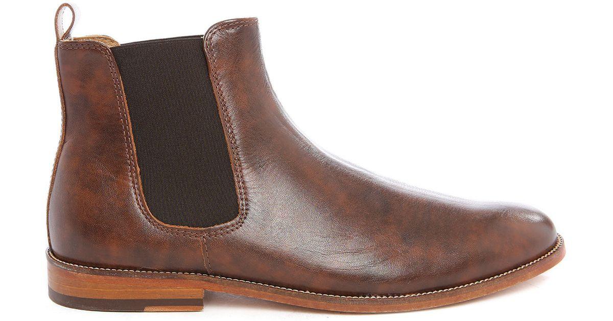 bobbies cognac lahorloger cognac leather chelsea boots brown product 4. Black Bedroom Furniture Sets. Home Design Ideas
