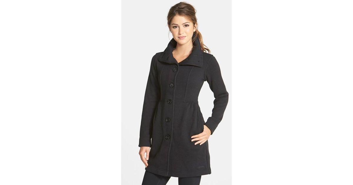 Patagonia 'better Sweater' Fleece Coat in Black | Lyst