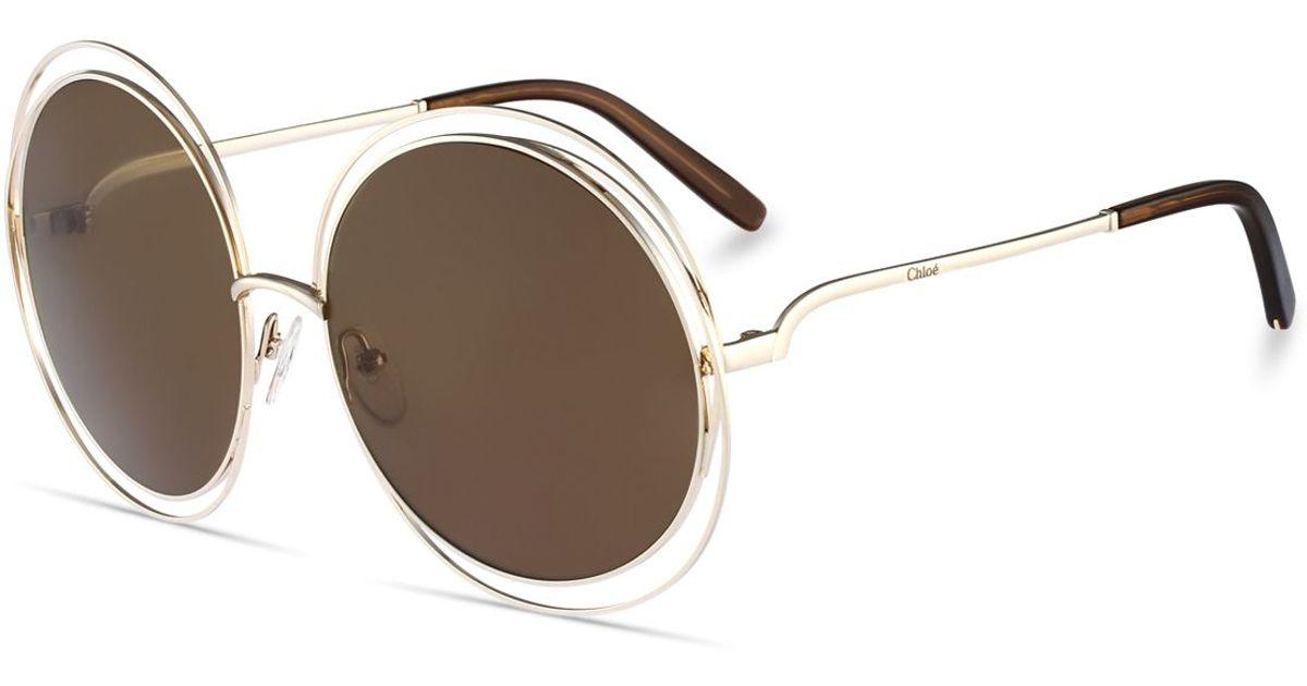 f31a899e74f Chloe Oversized Round Sunglasses « Heritage Malta