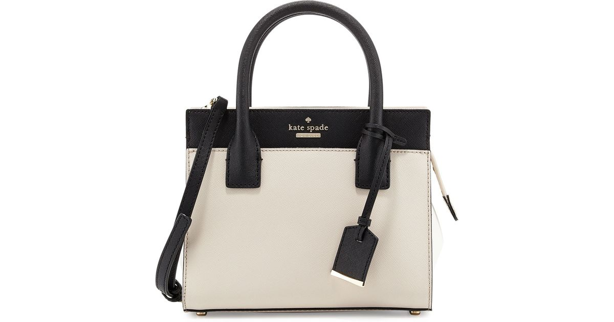 3bdee7de4e Lyst - Kate Spade Cameron Street Mini Candace Satchel Bag in Black