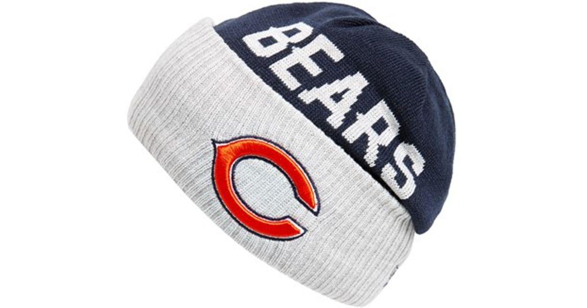 Lyst - Ktz  chicago Bears  Beanie in Blue for Men 3285c1fa5