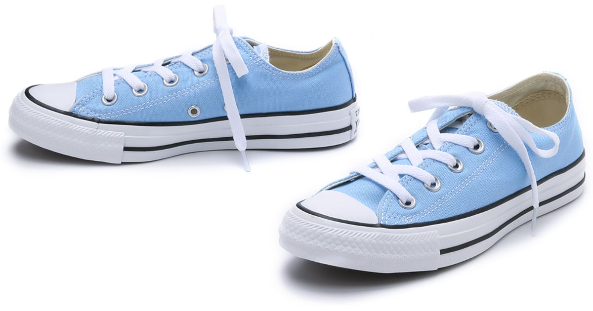 Lyst - Converse Chuck Taylor All Stars - Blue Sky in Blue