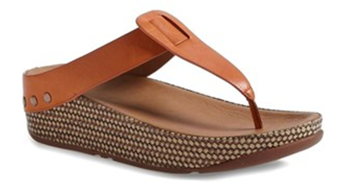 63ec98b08 Lyst - Fitflop  ibiza  Sandal in Orange