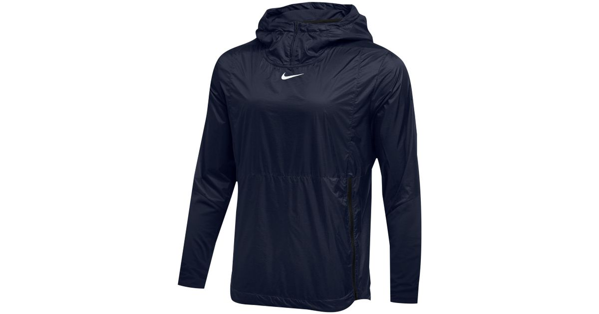 buy popular 8dccc 9c18b Nike - Blue Team Authentic Lightweight Fly Rush Jacket for Men - Lyst