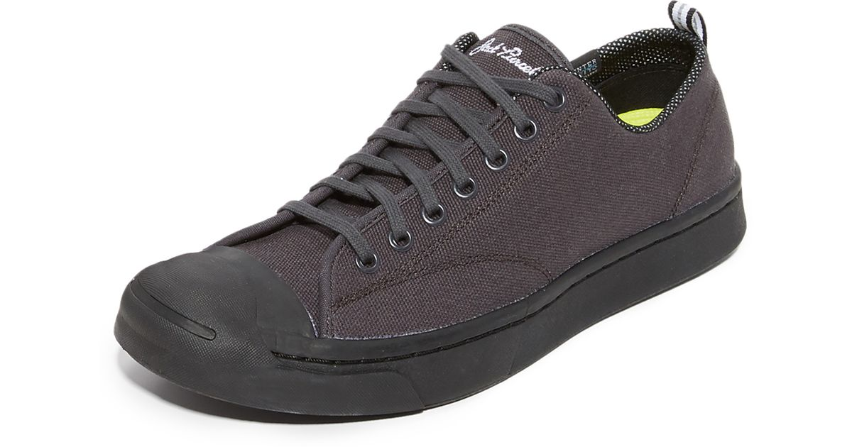 8cec9aa150e2 Lyst - Converse Jack Purcell M-series Shield Sneakers in Black for Men