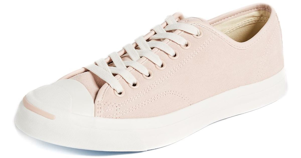 056592e1eee29a Lyst - Converse Jack Purcell Jack Suede Sneakers in Pink for Men