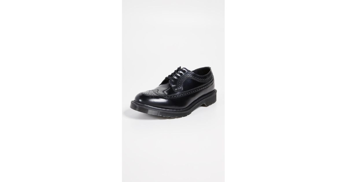 d45c77e55b Lyst - Dr. Martens Made In Englad 3989 Brogue Lace Ups in Black for Men