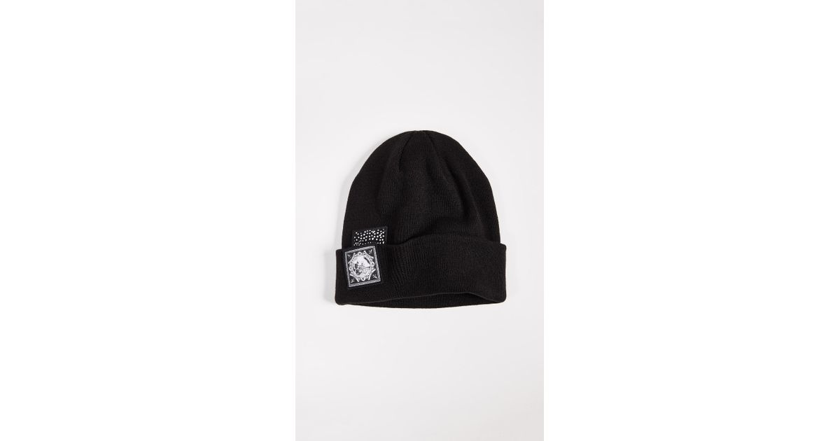96d4b4c397d Lyst - RVCA Benjamin Jj Beanie in Black for Men