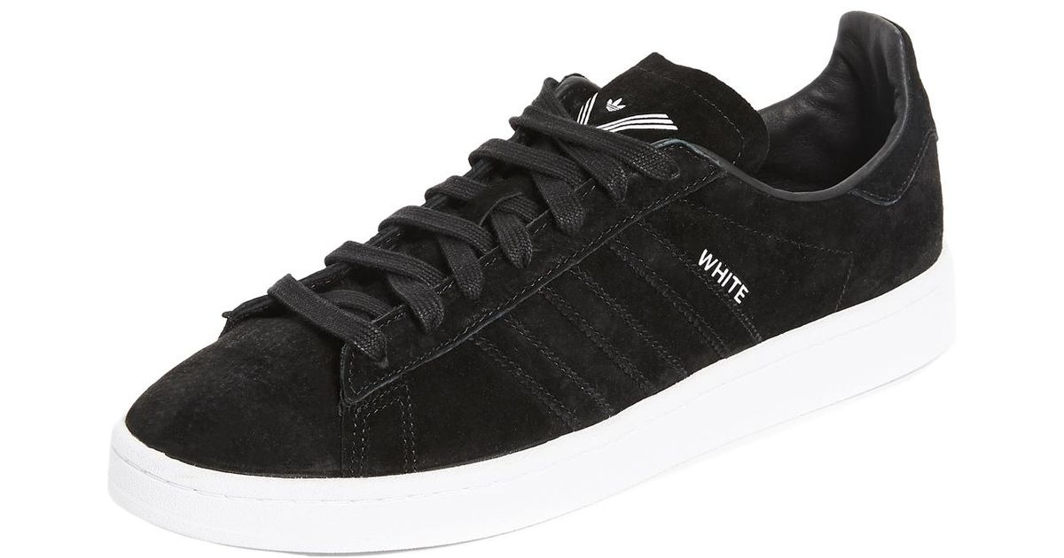 0f88d509fad9 Lyst - White Mountaineering X Adidas Originals Campus 8 Sneakers in Black  for Men