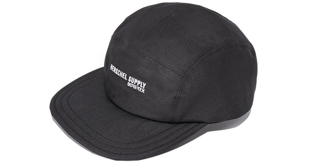 Lyst - Herschel Supply Co. Glendale Packable Gore-tex Cap in Black for Men de3591fccd76