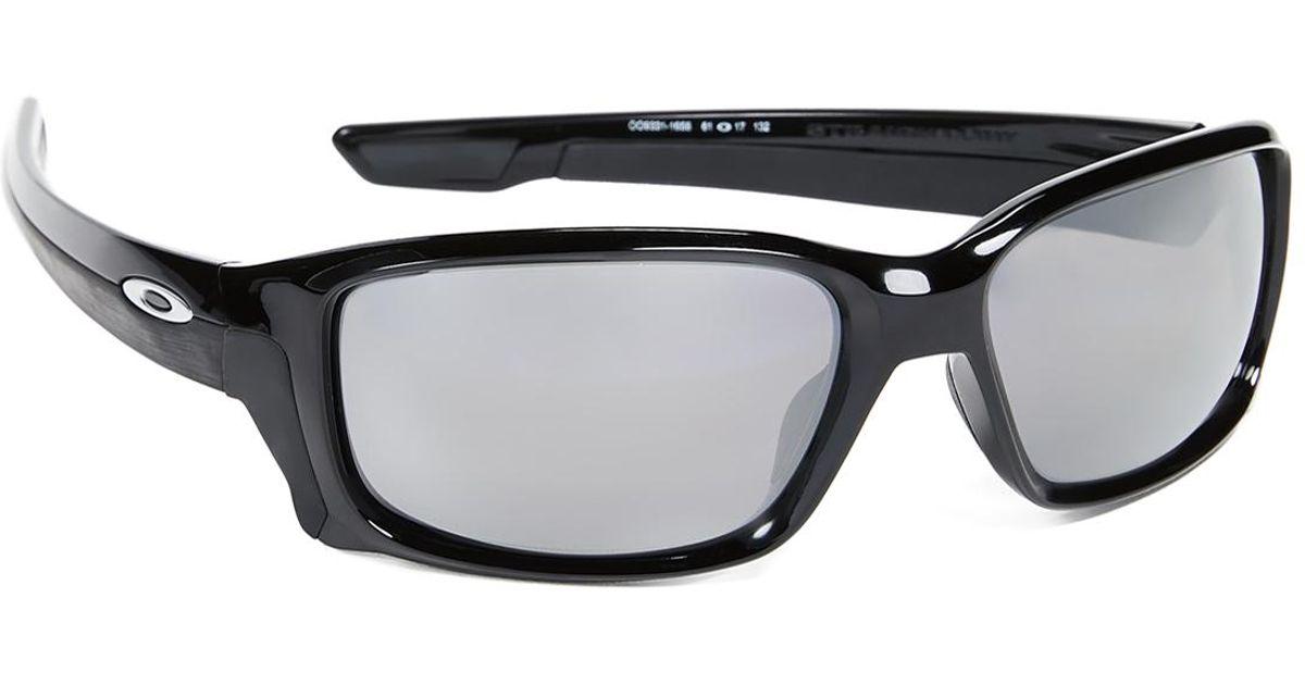 c1026b3bb9 Oakley Straightlink Prizm Polarized Sunglasses in Black for Men - Lyst