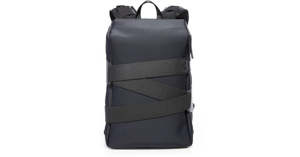 7ccef1306e Lyst - Y-3 Small Qrush Backpack in Black for Men