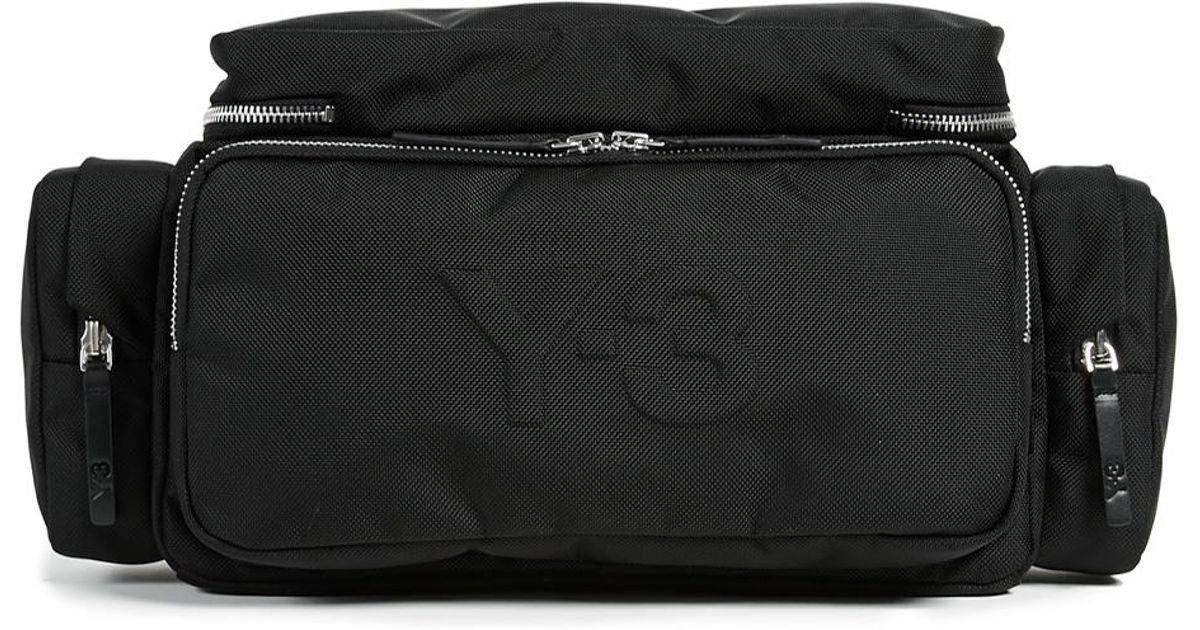 daf29bc1b0 Y-3 Multi Body Bag in Black for Men - Lyst