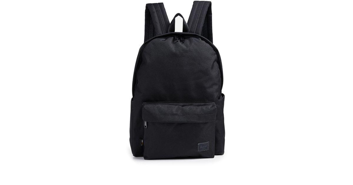 Lyst - Herschel Supply Co. Cordura Berg Backpack in Black for Men cca353307b8db