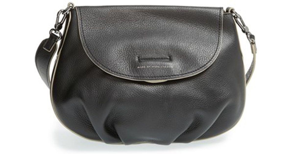 e03a65cc4224 Lyst - Marc By Marc Jacobs  new Q - Natasha  Reversible Crossbody Bag in  Black