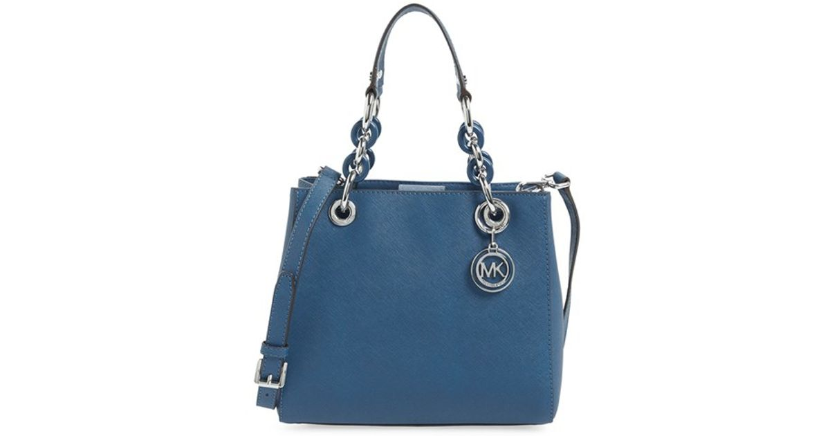 Michael Kors Cindy Laukku : Michael kors cynthia small leather satchel in