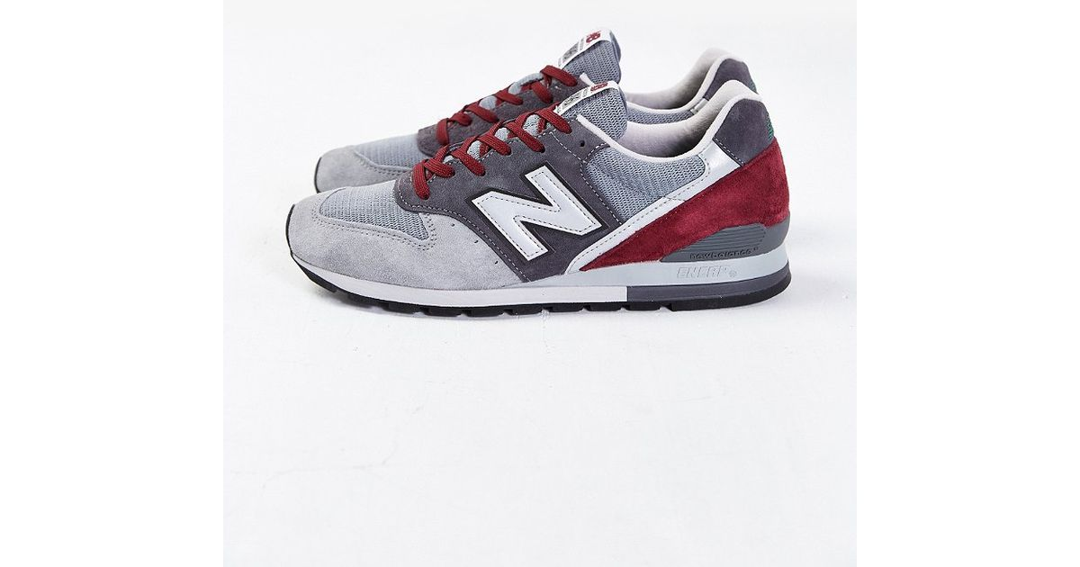 best website 36164 2acf4 New Balance 996 Made In Usa Connoisseur Painters Running Sneaker in Gray  for Men - Lyst