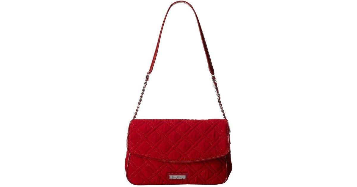fba64d089ca Lyst - Vera Bradley Chain Shoulder Bag in Red