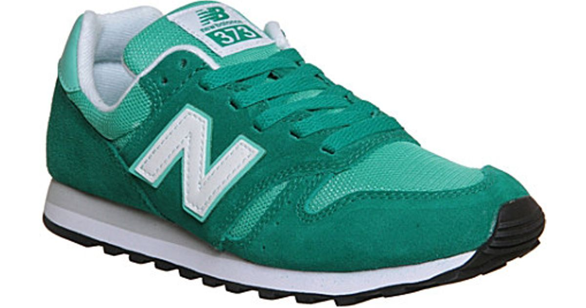 new balance 373 suede mesh