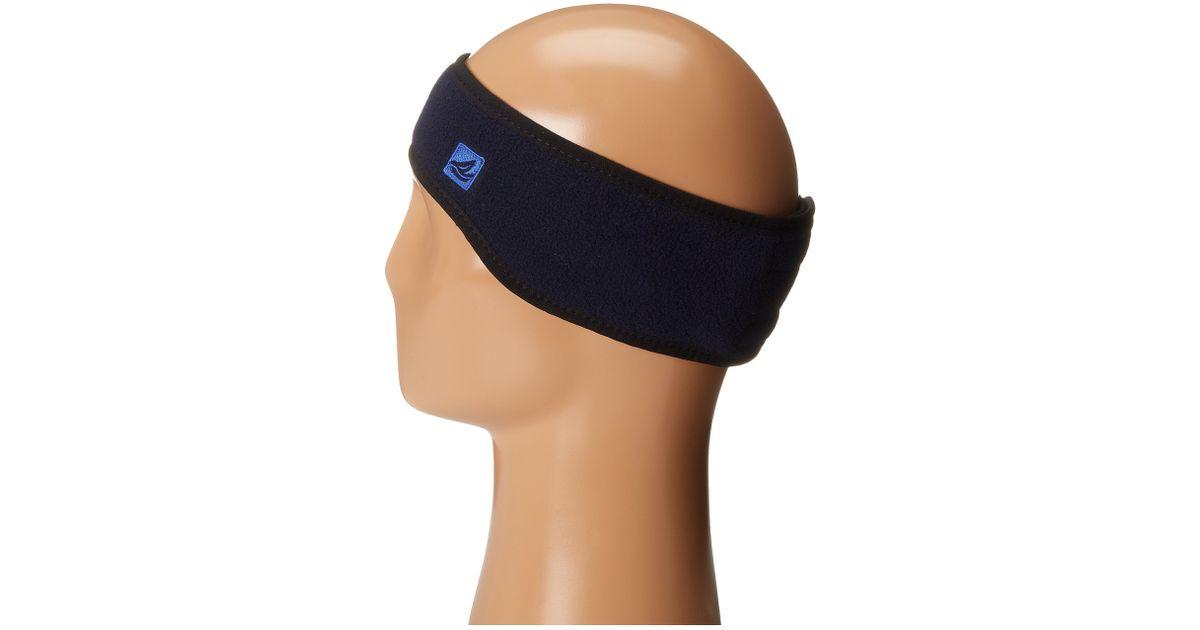 eeda42540e03f Lyst - Sperry Top-Sider Fleece Ear Warmer in Black for Men