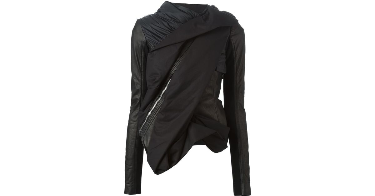 sale to contrast jacket it drapes draped zoom me trim on dkny shop today