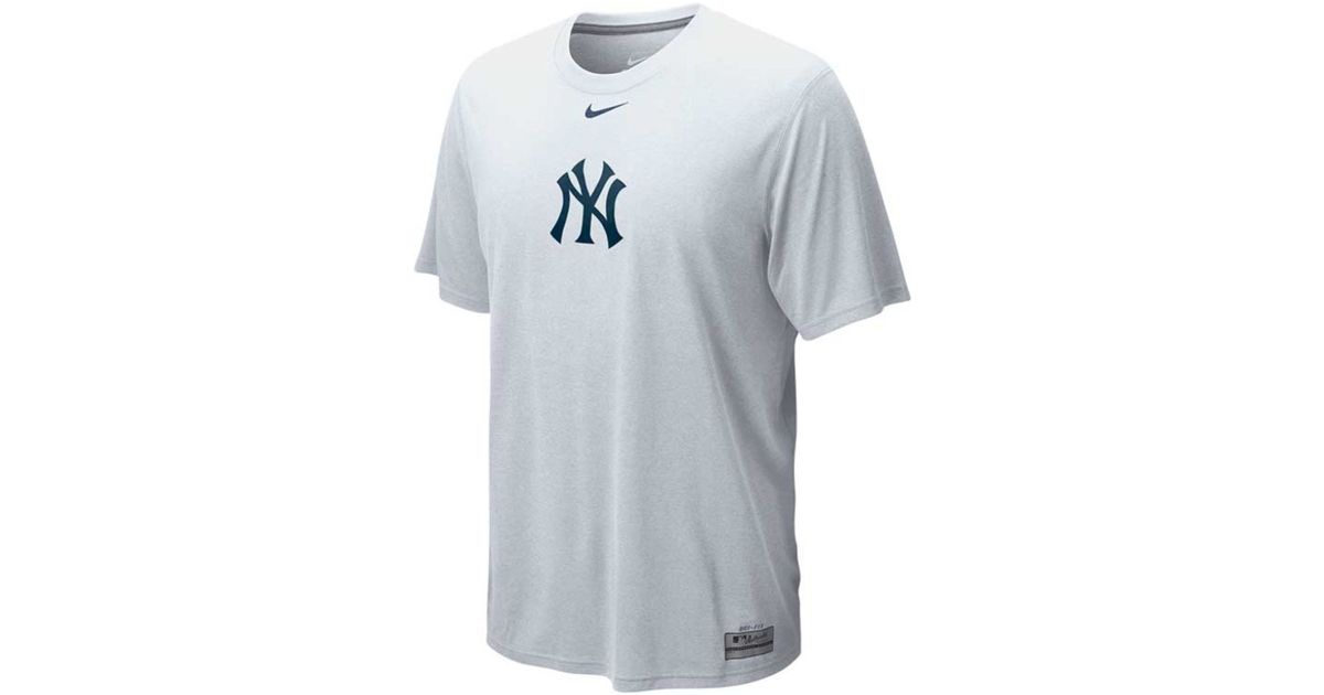 Lyst - Nike Men s New York Yankees Dri-fit Logo Legend T-shirt in White for  Men 310c46a3a0a