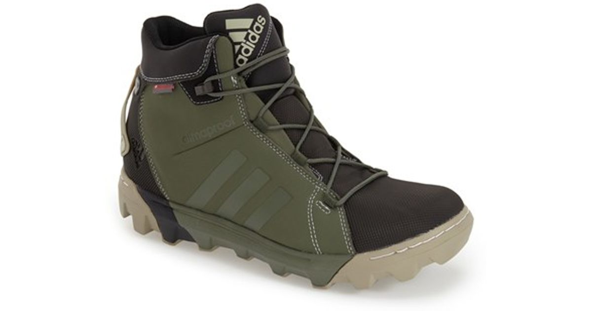 Lyst Adidas Slopecruiser Waterproof Primaloft Insulated Hiking Boot In  Green For Men 949c1ea56
