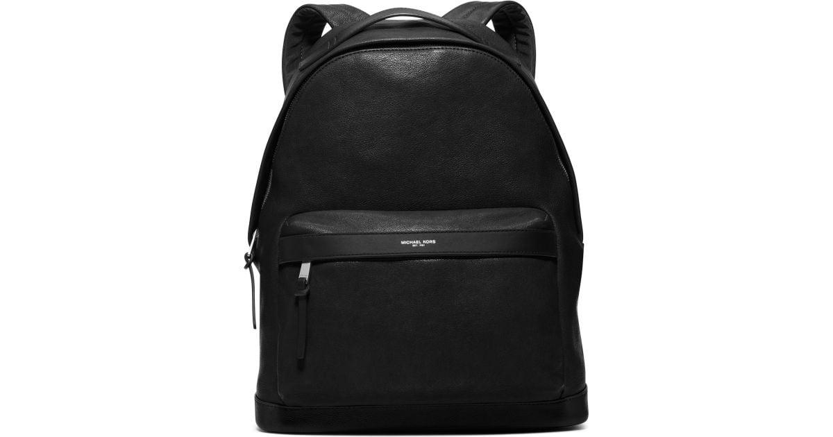 4f1d76a4ede9 12345678910 3ea50 3446c; switzerland michael kors black lavato leather  backpack for men lyst f1358 17f84