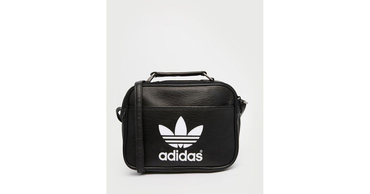 Men Lyst Mini Black Airliner Adidas Originals For Flight Bag In xwrzgw7qE