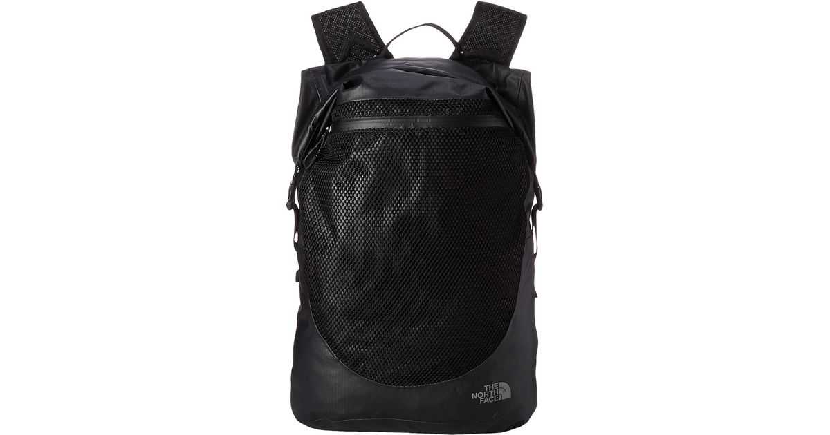 Lyst - The North Face Waterproof Daypack in Black for Men f11ca2cbb1e6
