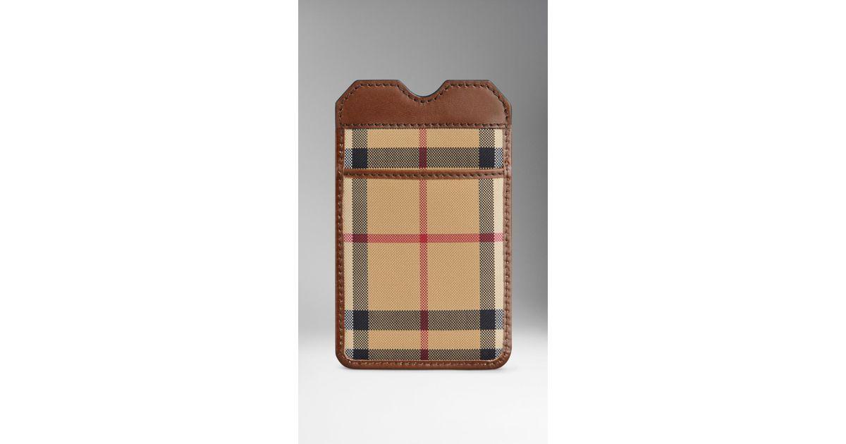 Burberry I Phone Case